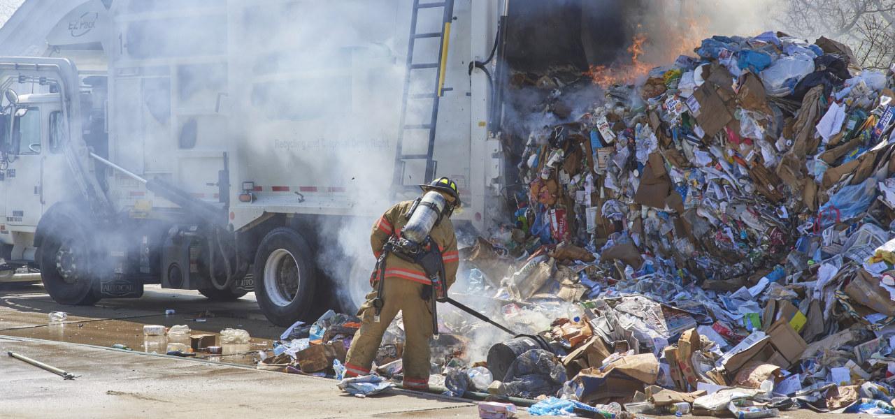 Brannsikkerhet i avfallsanlegg