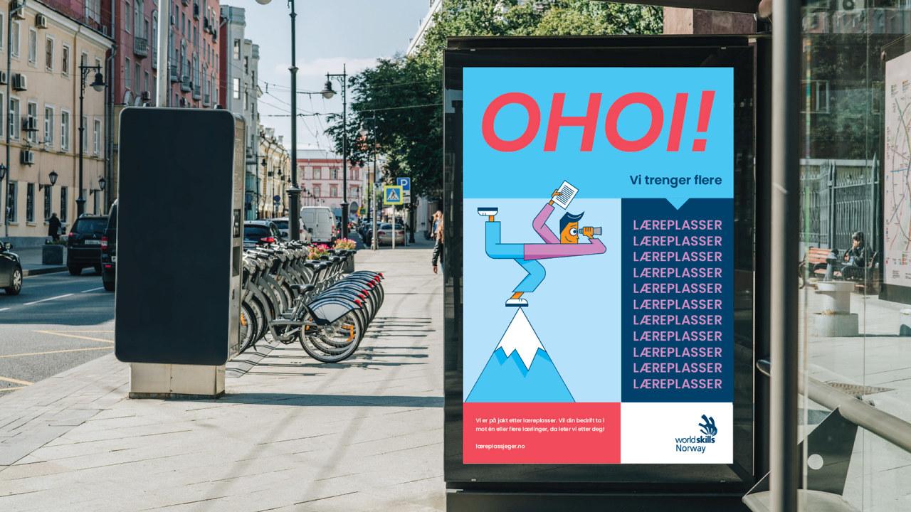 Lokal annonsering av læreplassjeger
