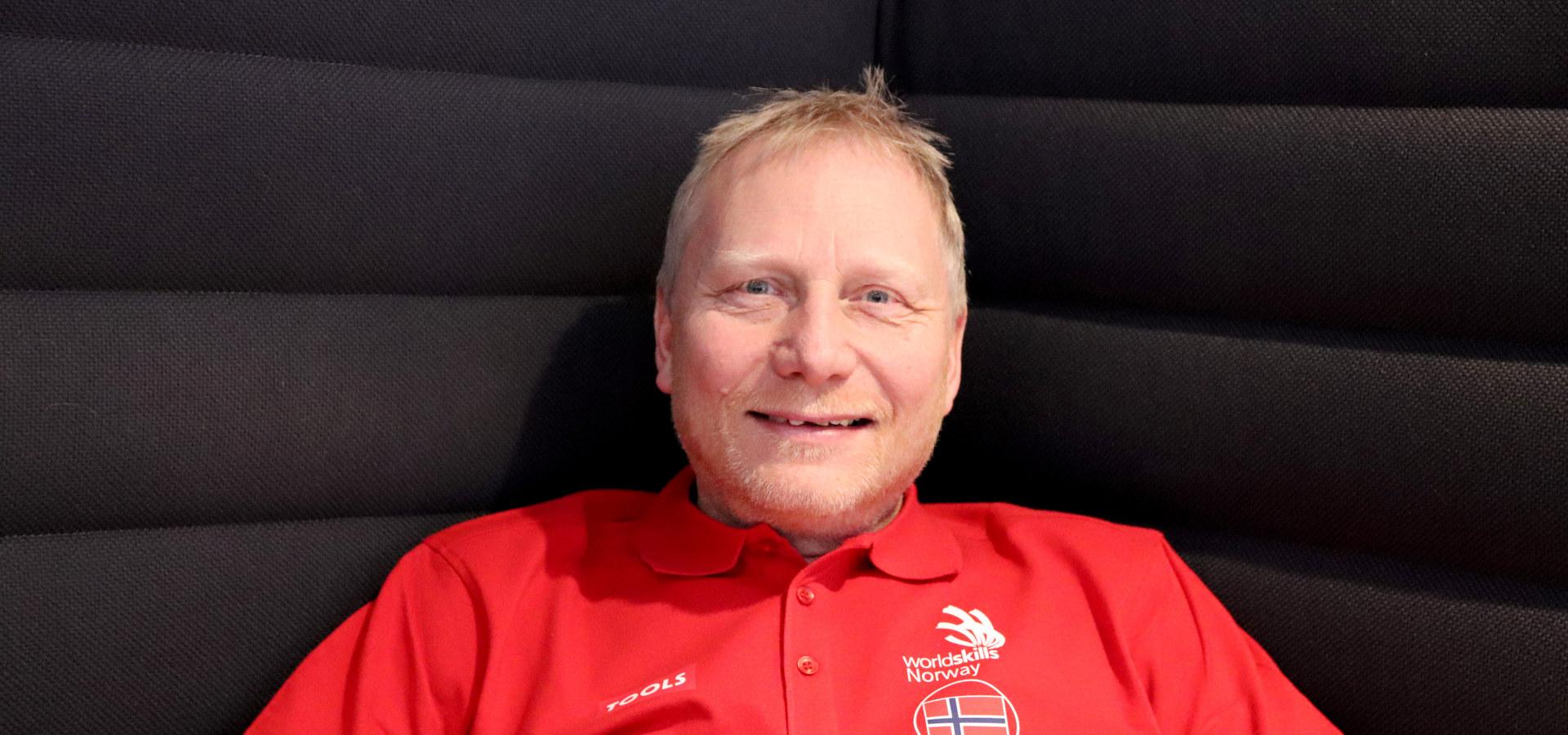 Idar Størseth fra Opplæringskontoret for teknologifag Sør i Trøndelag (OTEK). Foto: WorldSkills Norway