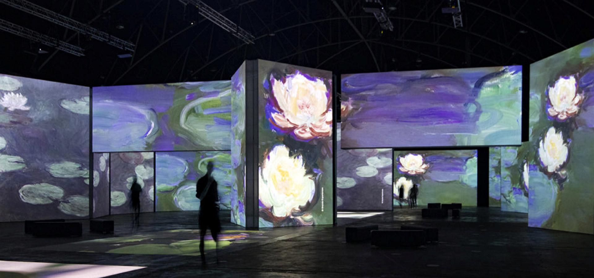 Monet-utstilling på Hadeland Glassverk
