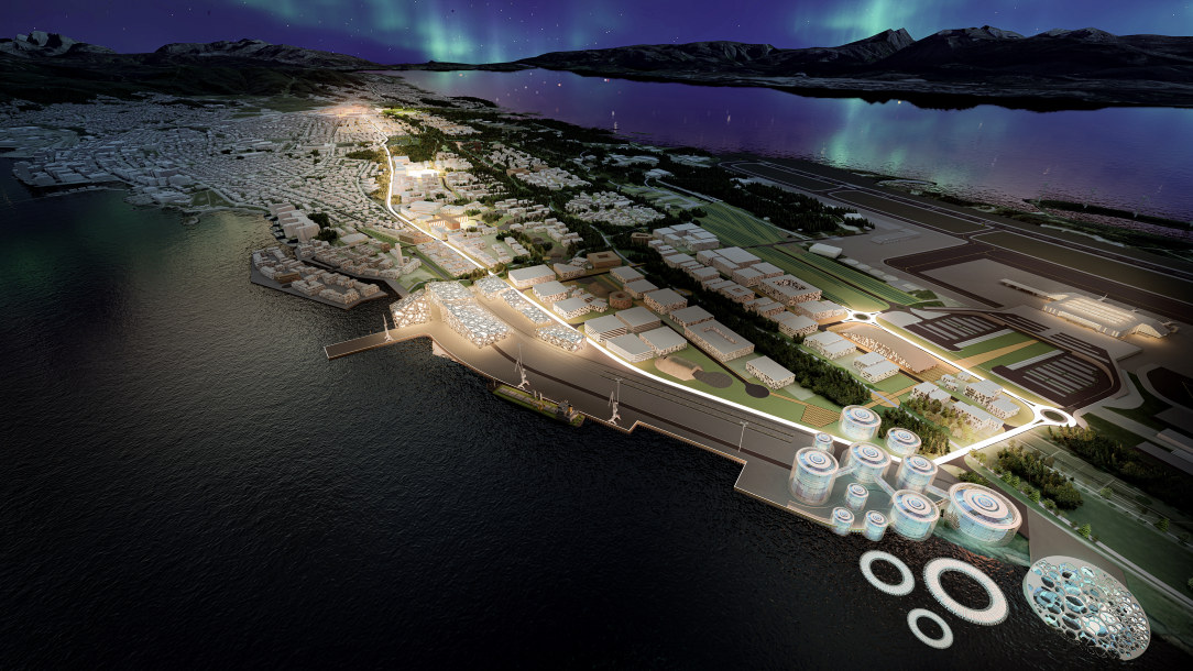 Produksjonslinje i Bodø