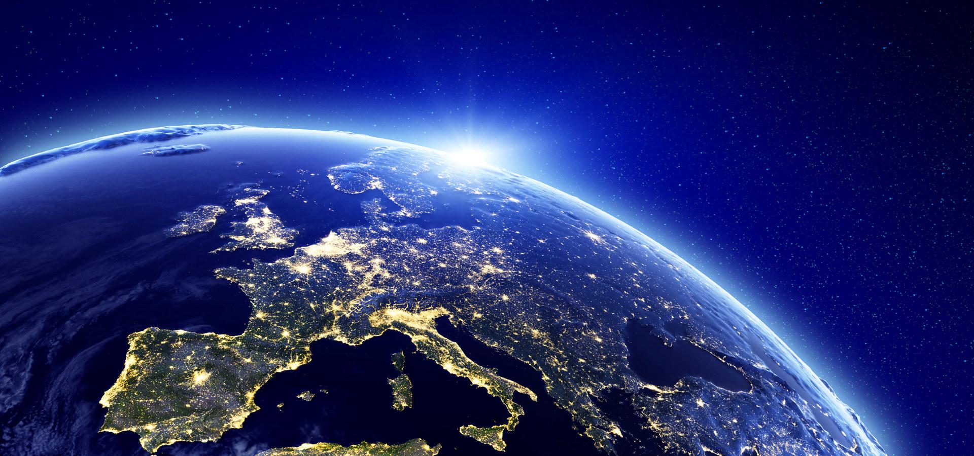 Europa sett fra verdensrommet